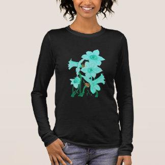 March: Aquamarine Daffodils tee