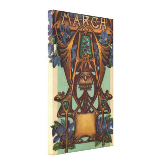 March - Aries Gallery Wrap Canvas