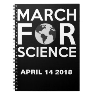 March For Science  2018 Notebook