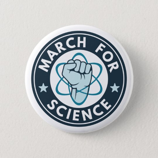 March For Science 6 Cm Round Badge