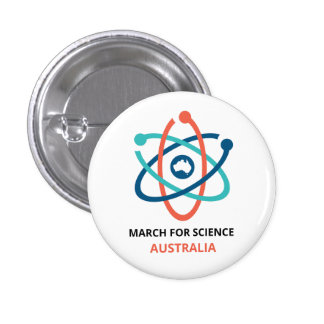 March for Science - Australia - 3 Cm Round Badge