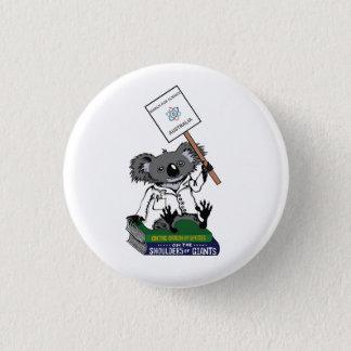 March for Science Australia - Koala - 3 Cm Round Badge