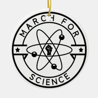 march_for science christmas ornament