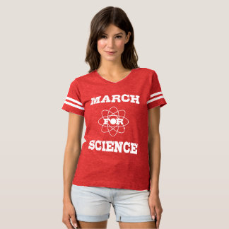 March for Science Football Shirt