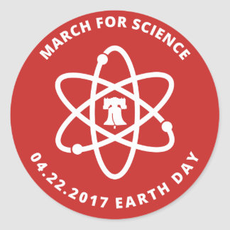 March for Science Philadelphia stickers
