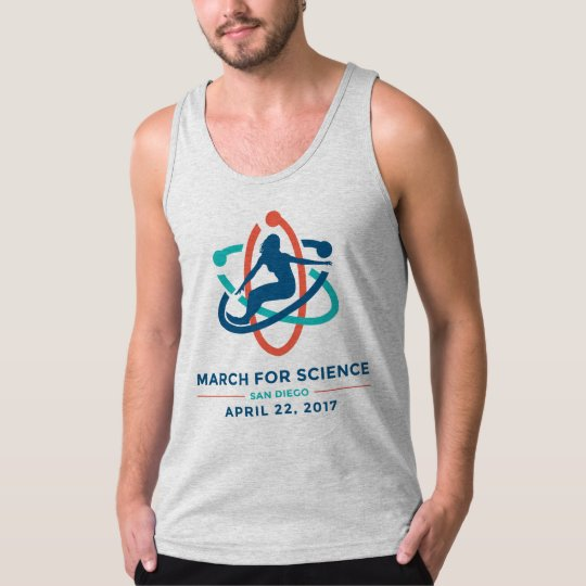 March For Science: San Diego - Grey Men's Tank