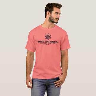 March for Science SV Basic Men's T-shirt Coral