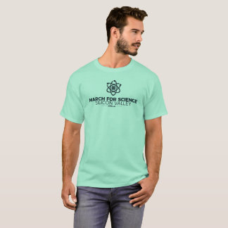 March for Science SV Basic Men's T-shirt Mint