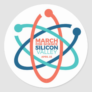 March for Science SV Sticker 2