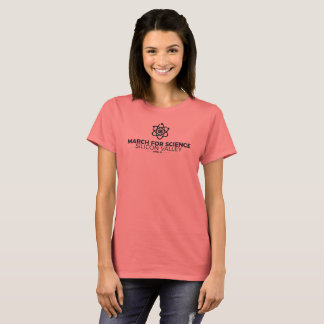 March for Science SV Women's Basic T-shirt Coral