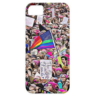 March for Women's Equality Rainbow LGBT Flag iPhone 5 Covers