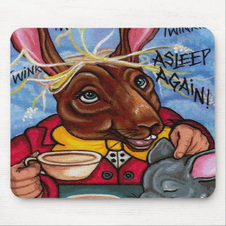 MARCH HARE Alice in Wonderland Mouse Pad