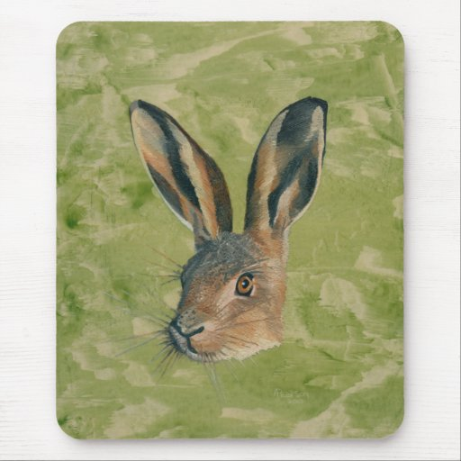 March Hare Mouse Pad