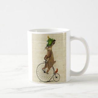 March Hare on Penny Farthing 3 Coffee Mug