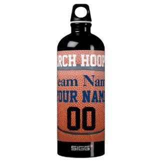 March Hoops Basketball Sports Humor Water Bottle