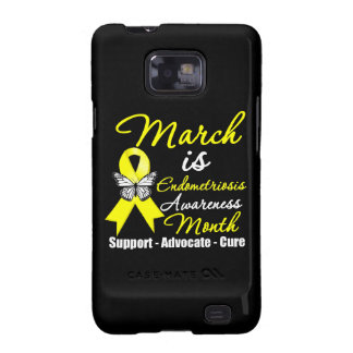 March is Endometriosis Awareness Month Samsung Galaxy SII Case