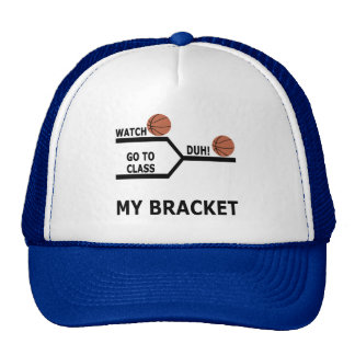 March Madness Basketball Funny Bracket T-Shirts Cap