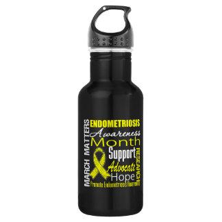 March Matters Endometriosis Awareness Month 532 Ml Water Bottle