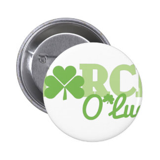 March O Luck 6 Cm Round Badge