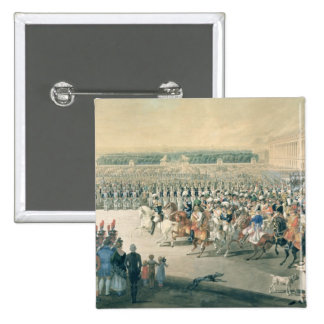 March of the Allied forces into Paris, 1815 15 Cm Square Badge