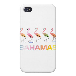 March of the Tropical Flamingos BAHAMAS iPhone 4 Cases