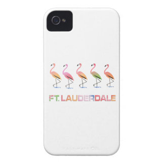 March of the Tropical Flamingos FT LAUDERDALE iPhone 4 Covers