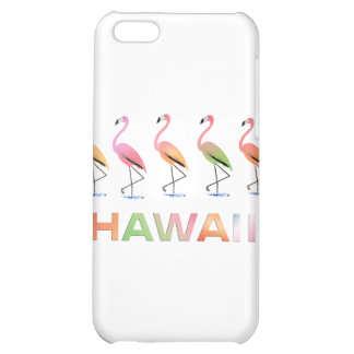 March of the Tropical Flamingos HAWAII iPhone 5C Cover