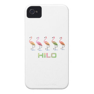 March of the Tropical Flamingos HILO iPhone 4 Cover