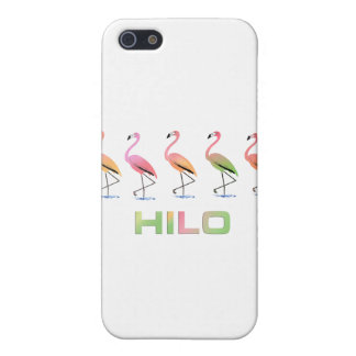 March of the Tropical Flamingos HILO Covers For iPhone 5