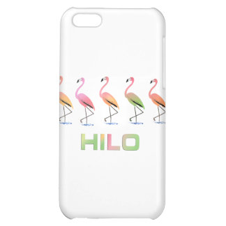 March of the Tropical Flamingos HILO iPhone 5C Cover