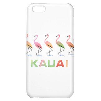 March of the Tropical Flamingos KAUAI iPhone 5C Case