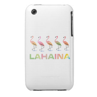 March of the Tropical Flamingos LAHAINA iPhone 3 Case-Mate Cases