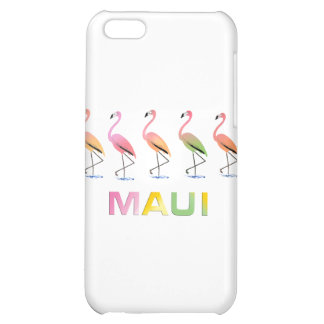 March of the Tropical Flamingos MAUI iPhone 5C Covers