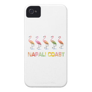 March of the Tropical Flamingos NAPALI COAST Case-Mate iPhone 4 Case