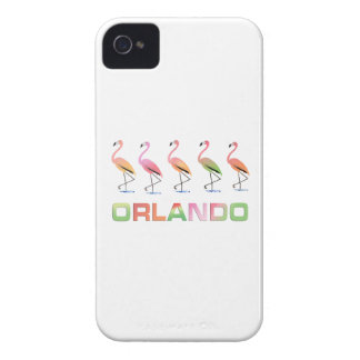 March of the Tropical Flamingos ORLANDO iPhone 4 Case