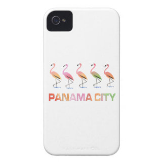 March of the Tropical Flamingos PANAMA CITY iPhone 4 Cases