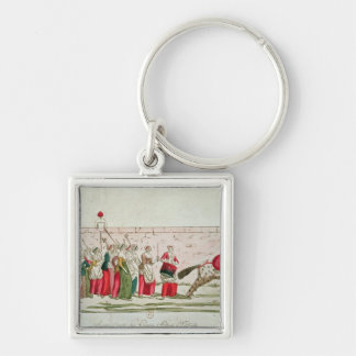March of the Women on Versailles Key Ring