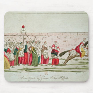 March of the Women on Versailles Mouse Pad