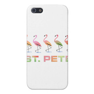 March of Tropical Flamingos - St Pete iPhone 5 Covers