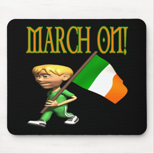 March On Mouse Pads