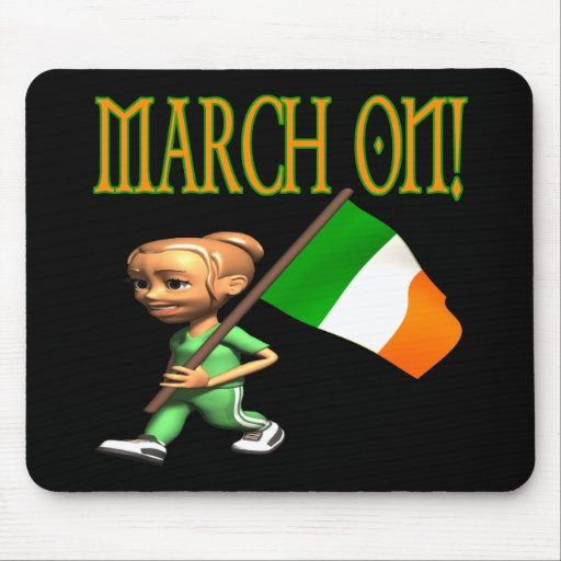 March On Mousepad