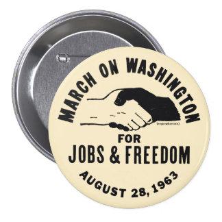 March On Washington 7.5 Cm Round Badge