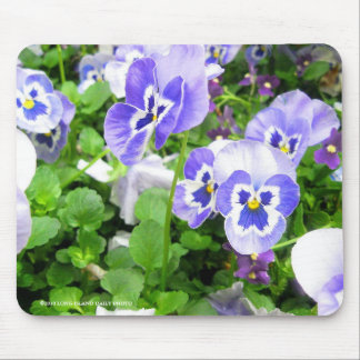 March Pansies Mouse Pad