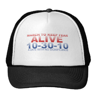 MARCH TO KEEP FEAR ALIVE TRUCKER HAT
