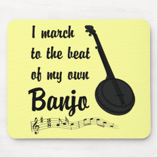 March to the Beat: Banjo Mouse Pads