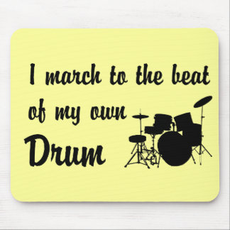 March to the Beat: Drum Mousepads