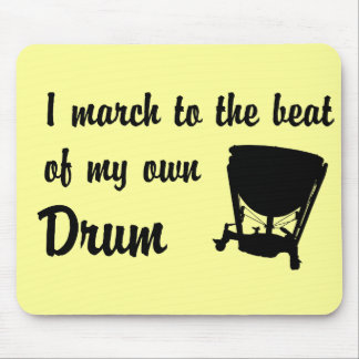 March to the Beat: Timpani Mouse Mat