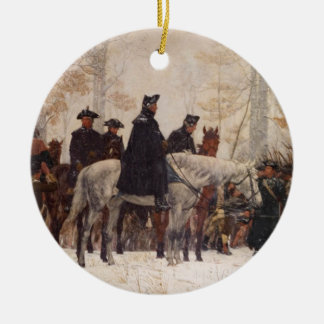 March to Valley Forge - William Trego  (1883) Christmas Ornament