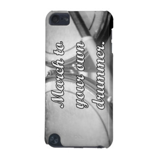 March to your own drummer tom background iPod touch (5th generation) case