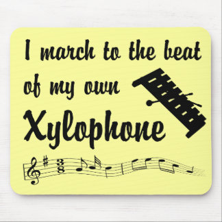 March Xylophone Mousepad